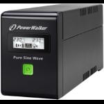 PowerWalker VI 800 SW uninterruptible power supply (UPS) 800 VA 480 W