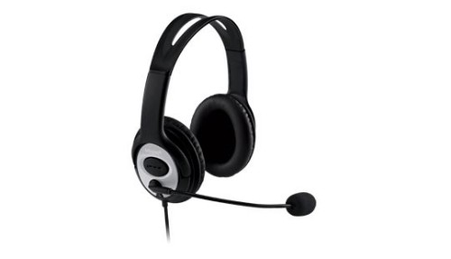 Microsoft LifeChat LX-3000 Binaural Head-band Black headset