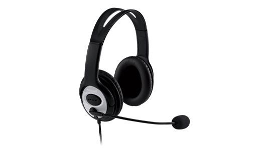 Microsoft LifeChat LX-3000 Binaural Head-band Black