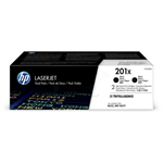 HP CF400XD (201X) Toner black, 2.8K pages, Pack qty 2