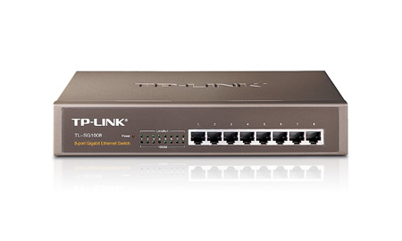 TP-LINK TL-SG1008 network switch Unmanaged