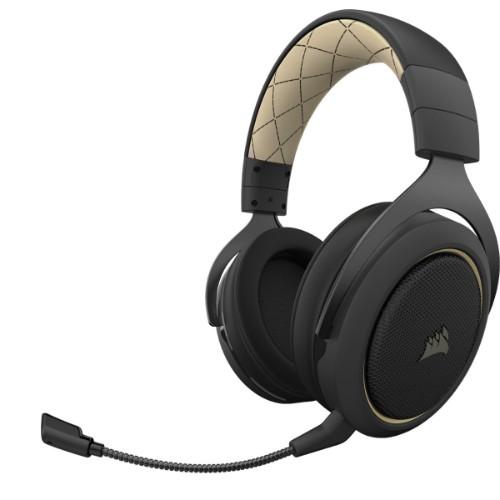 Corsair HS70 PRO WIRELESS Headset Head-band Black, Cream