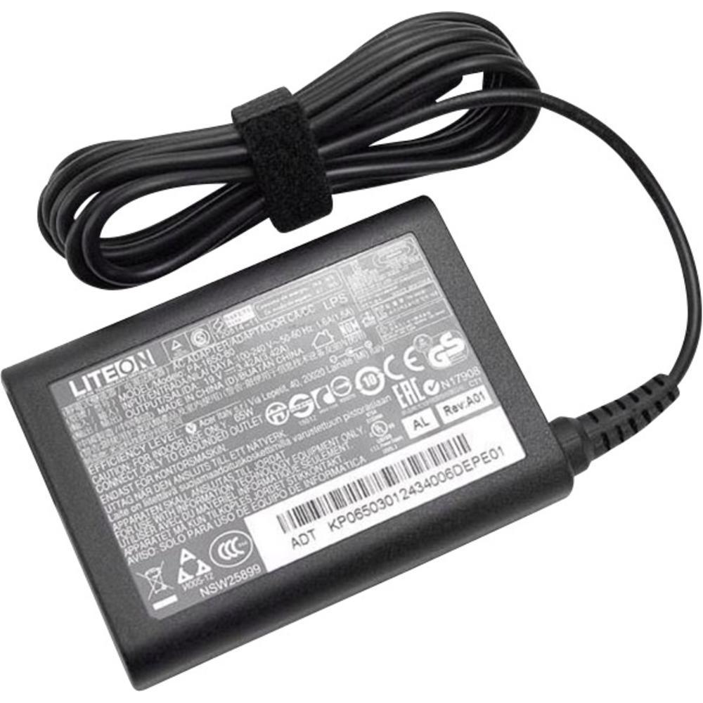 Acer AC Adaptor 65W power adapter/inverter Indoor Black