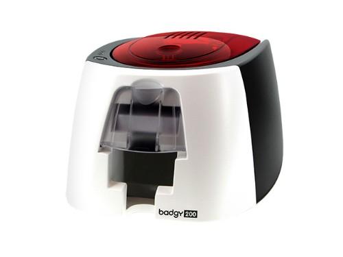 Evolis Badgy200 plastic card printer Dye-sublimation/Thermal transfer Colour 260 x 300 DPI