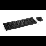 Microsoft Wireless Desktop 900 Tastatur RF Wireless Schweiz Schwarz