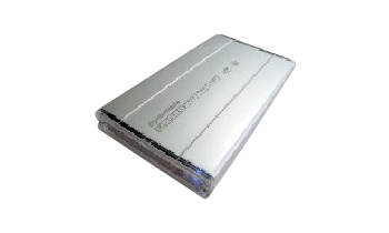 "Dynamode USB 2.0 External Housing for 2.5"" SATA/IDE HDD 2.5"" Silver USB powered"