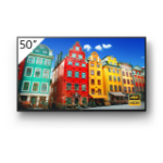 "Sony FW-50BZ30J signage display Digital signage flat panel 50"" VA 4K Ultra HD Black Built-in processor Android 10"