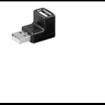 Microconnect USBAMAFA cable interface/gender adapter USB A Black