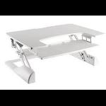 "Ergotech Group Freedom Desk - 36"" White computer desk"