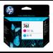 HP Cabezal de impresión DesignJet 761 magenta/cian