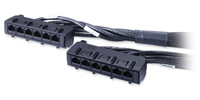 APC Data Distribution Cable CAT6 1.5m networking cable Black