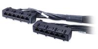 Data Distribution Cable - CAT6 - UTP - CMR - 6xRJ-45 - 1.5m - Black