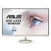 "ASUS VZ27AQ computer monitor 68.6 cm (27"") Wide Quad HD LED Flat Matt Black,Gold"
