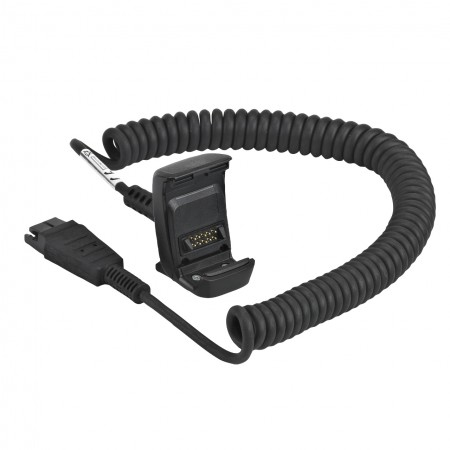 Zebra TC8000 HEADSET ADAPTER CABLE. SUPPORTS HEADSETS WITH QUICK-DISCONNECT CONNECTOR AND INCLUDES A PUSH-