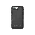 "Griffin Survivor Extreme mobile phone case 14 cm (5.5"") Cover Black"