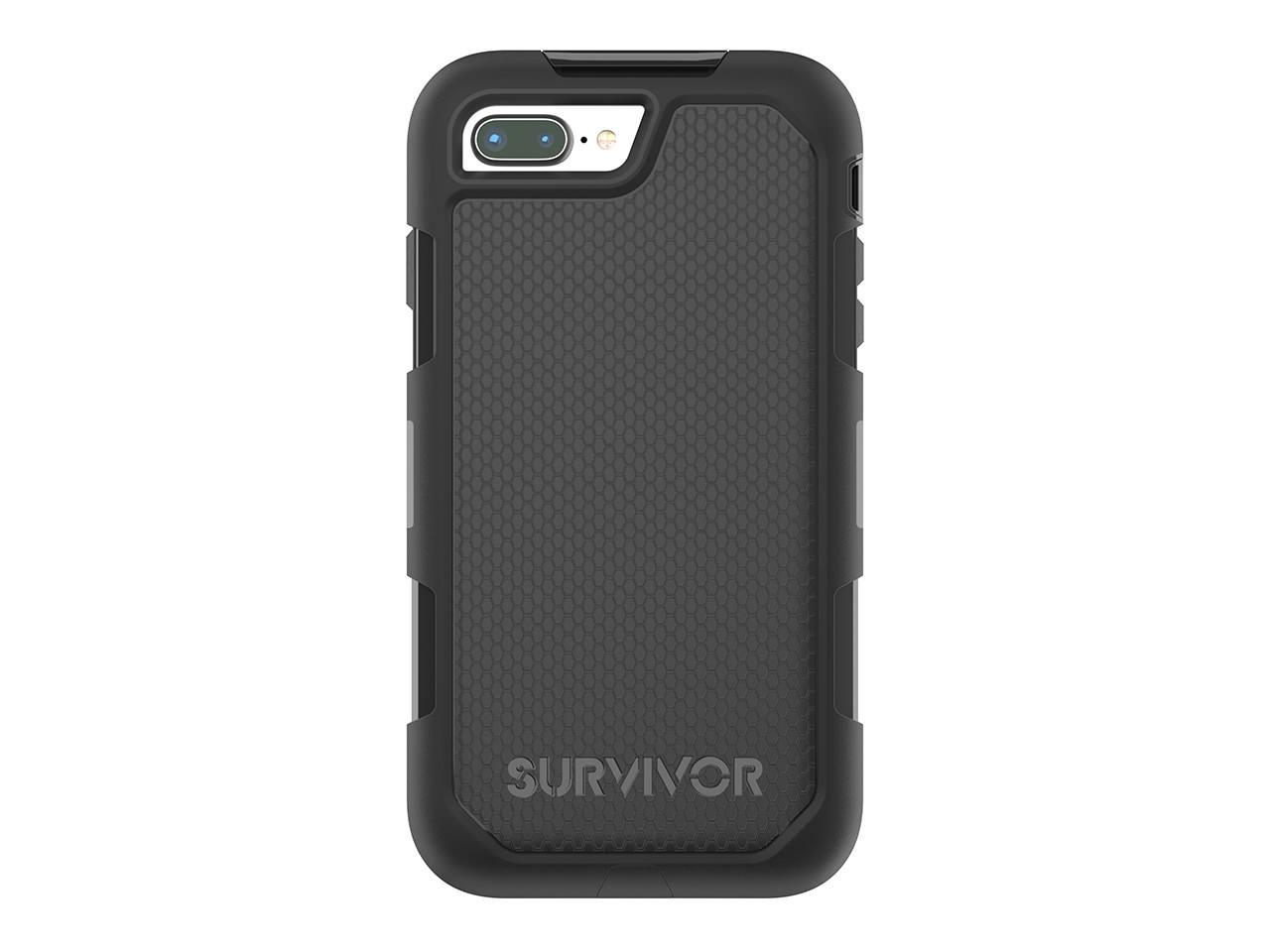 """Griffin Survivor Extreme mobile phone case 14 cm (5.5"""") Cover Black"""