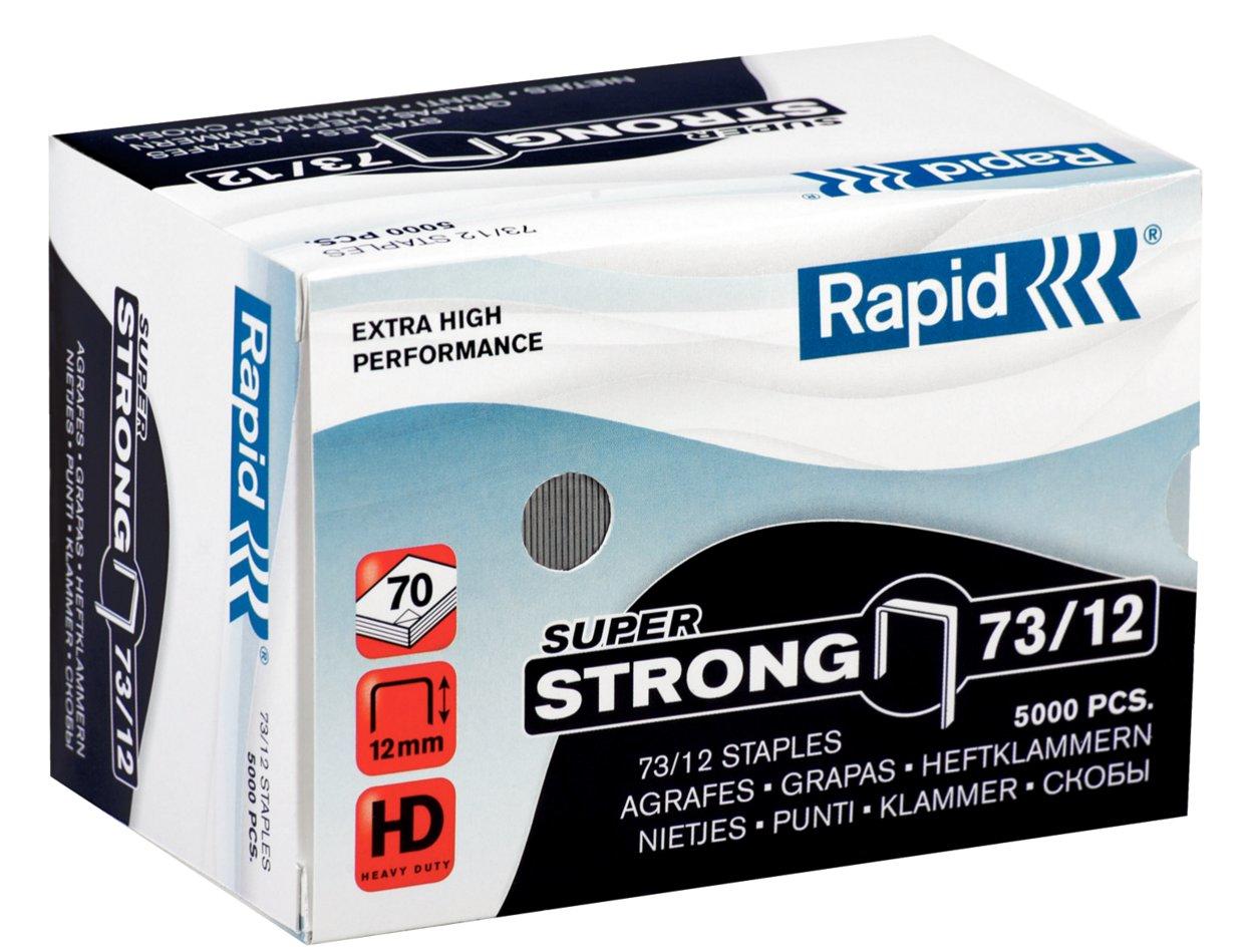 Rapid 73/12 Staples pack 5000staples
