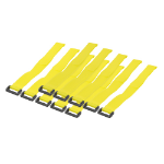 LogiLink KAB0015 Nylon Yellow cable tie