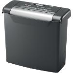 Rexel Momentum S206 triturador de papel Corte en tiras 72 dB Negro, Gris
