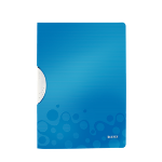 Leitz ColorClip WOW Polyoxymethylene (POM), Polypropylene (PP) Blue folder