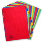 Elba 400007517 divider Multicolour Cardboard 20 pc(s)