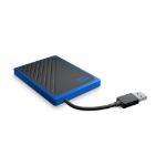 Western Digital My Passport Go 500 GB Zwart, Blauw