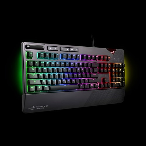 Asus ROG Strix Flare RGB LED Cherry MX Red Switch Mechanical Gaming Keyboard