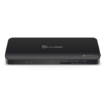 ALOGIC ThunderBolt 3.0 Docking Station with 4K Support & Power Delivery-Black