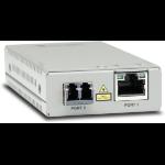 Allied Telesis AT-MMC2000/LC-960 network media converter 1000 Mbit/s 1310 nm Multi-mode Gray
