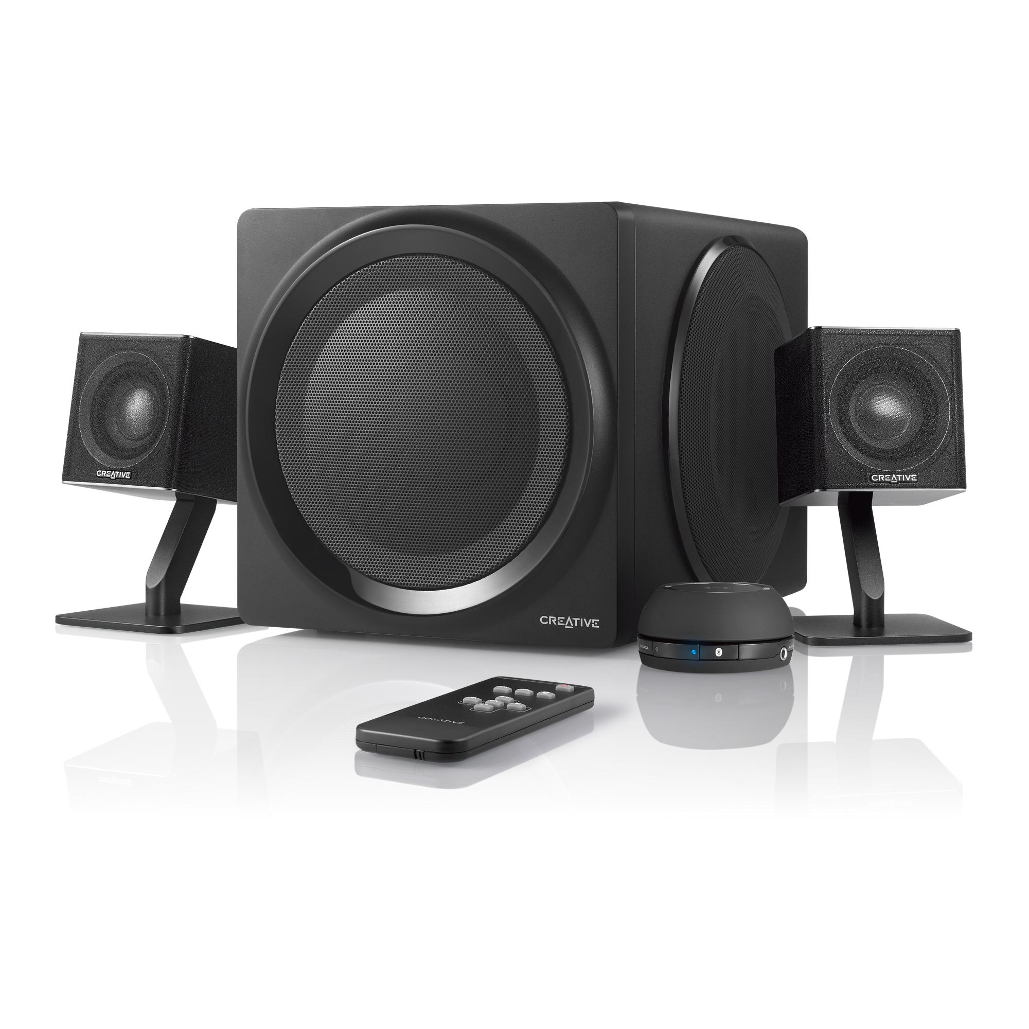 Creative Labs T4 Wireless 2.1channels Black speaker set