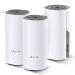 TP-LINK Deco E4 (3-pack) Doble banda (2,4 GHz / 5 GHz) Wi-Fi 5 (802.11ac) Blanco, Gris 2 Interno