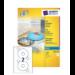 Avery J8676-100 storage media label 200 pc(s) CD/DVD Self-adhesive label