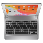 Brydge BRY80012G mobile device keyboard Silver Bluetooth QWERTZ German