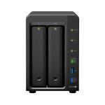 Synology DiskStation DS718+ J3455 Ethernet LAN Compact Black NAS