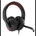 Corsair Raptor HS40 Binaural Head-band Black,Red headset
