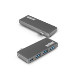 Urban Factory TCH03UF hub de interfaz USB 3.0 (3.1 Gen 1) Type-C Gris