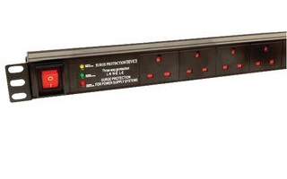 Dynamode PDU-10WS-V 10AC outlet(s) 1U Black power distribution unit (PDU)