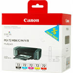 Canon 6402B009 (PGI-72) Ink cartridge multi pack, 5x14ml, Pack qty 5
