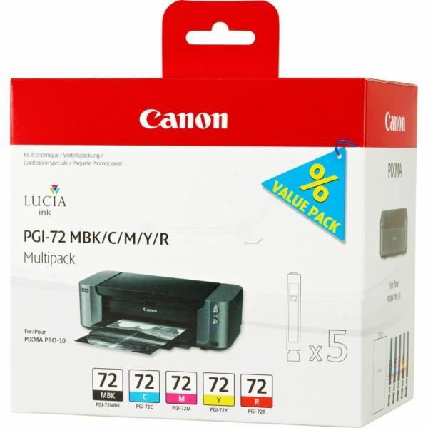 Canon 6402B009 (PGI-72) Ink cartridge multi pack, 5x14ml, Pack qty 5