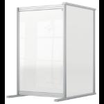 Nobo 1915498 magnetic board Grey, Transparent