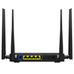Tenda D305 wireless router Single-band (2.4 GHz) Fast Ethernet Black