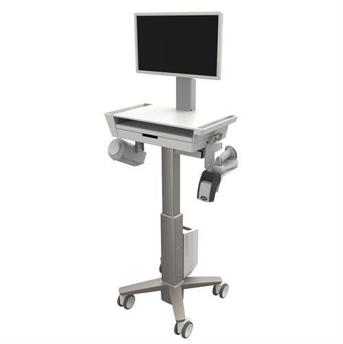 Ergotron CareFit Slim 2.0 Grey, White Universal Multimedia cart