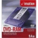 Imation DVD-RAM, 3x, Type 4, 9.4GB, Jewelcase, 5 Pack