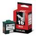 Lexmark 10N0016E (16) Printhead black, 335 pages, 14ml