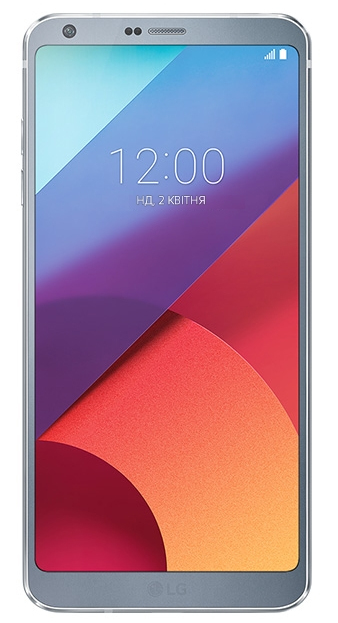 LG G6 Single SIM 4G 32GB Platinum Smartphone