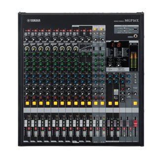 Yamaha MGP16X 16channels 20 - 20000Hz Black audio mixer