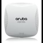 Aruba, a Hewlett Packard Enterprise company AP-215 1000Mbit/s Power over Ethernet (PoE) White WLAN access point