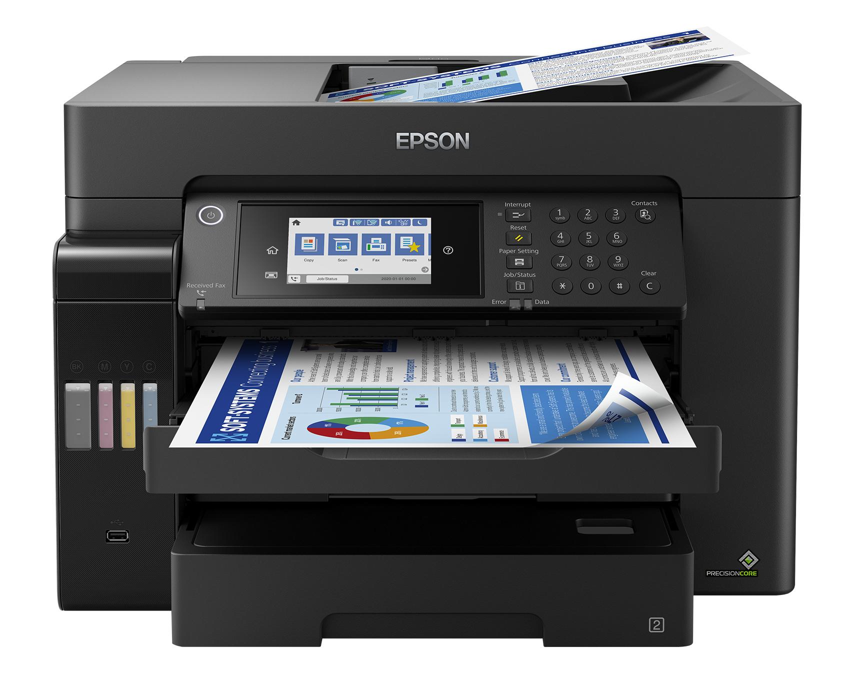 Epson EcoTank ET-16650 Inyección de tinta 4800 x 2400 DPI 32 ppm A3+ Wifi