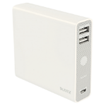 Leitz Complete USB Power Bank 12000 Lithium-Ion (Li-Ion) 12000mAh White power bank