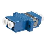 Cablenet LC Duplex SM Coupler Blue